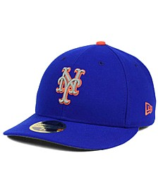 New York Mets Low Profile AC Performance 59FIFTY Fitted Cap