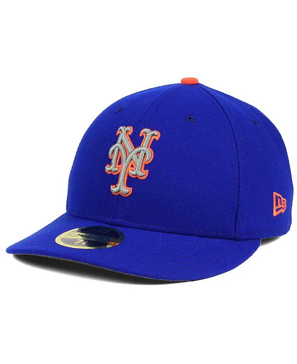 New Era New York Mets Low Profile AC Performance 59FIFTY Fitted Cap