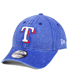 New Era Texas Rangers Italian Washed 9TWENTY Cap
