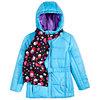 Macys deals on S. Rothschild Belted Little Girls Puffer Jacket w/Scarf