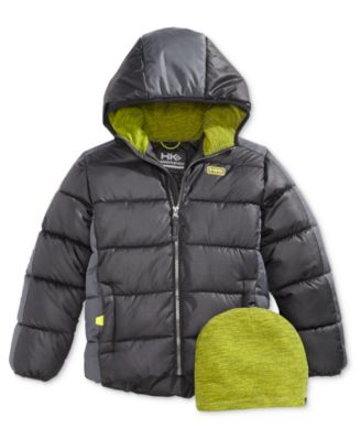 Outfitter Girls 7-16 Hooded Lightweight Anorak Hawke /& Co