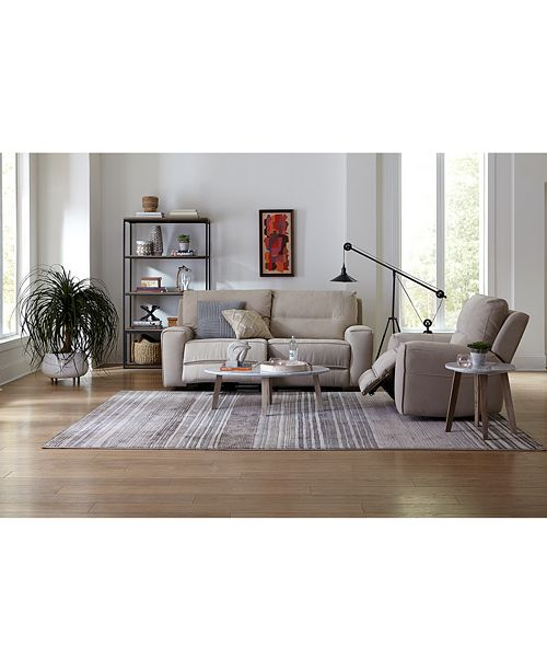 Furniture Closeout Genella 83 Quot Power Reclining Sofa With