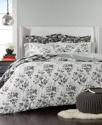 Martha Collection Magnolia Shadow 100 Cotton Reversible Flannel King