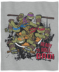 "Nickelodeon Teenage Mutant Ninja Turtles 50"" x 60"" Sweatshirt Throw"