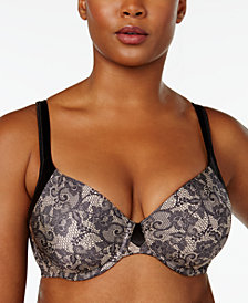 Playtex Love My Curves Modern Curvy Plus Size Supportive T-Shirt Bra US4848