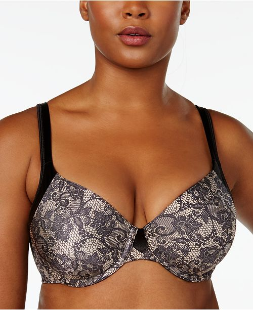Playtex Love My Curves Incredibly Smooth T-Shirt Shaping Underwire Bra US4848