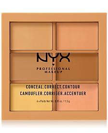 NYX Professional Makeup Conceal Correct Contour Palette Medium