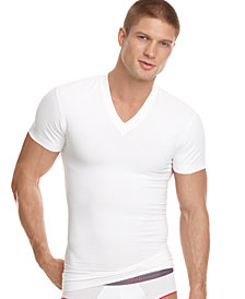 2(x)ist Men's Shapewear V-Neck T-Shirt