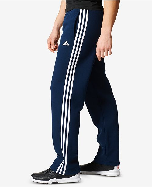 d9cde67f5454 adidas Men s Essential Open-Hem Fleece Sweatpants   Reviews - All ...
