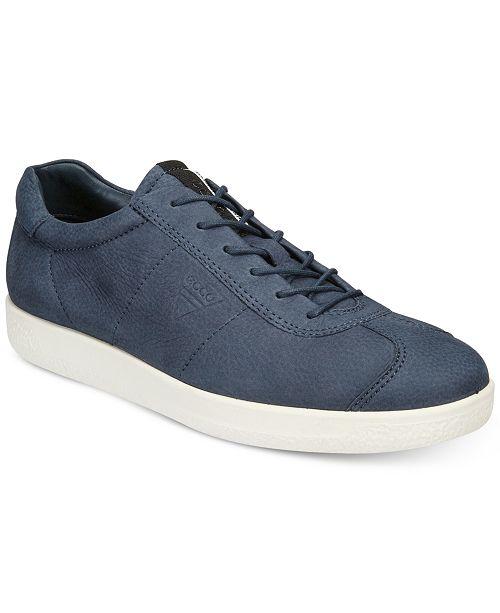 9ff91690a0d041 Ecco Men s Soft 1 Tie Casual Sneakers   Reviews - All Men s Shoes ...
