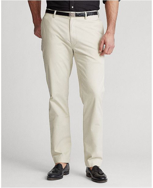 4f781436 Polo Ralph Lauren Men's Big & Tall Classic-Fit Stretch Chino Pants ...