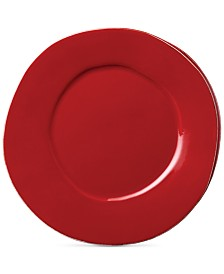 Vietri Lastra Red Collection Dinner Plate