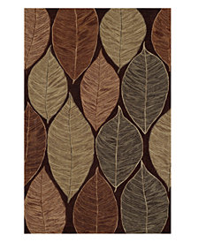"Dalyn Area Rug, Studio SD9 Chocolate 3' 6"" x 5' 6"""