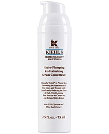 Dermatologist Solutions Hydro-Plumping Re-Texturizing Serum Concentrate, 2.5-oz.