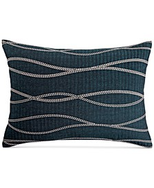 CLOSEOUT! Modern Wave Cotton King Sham, Created for Macy's