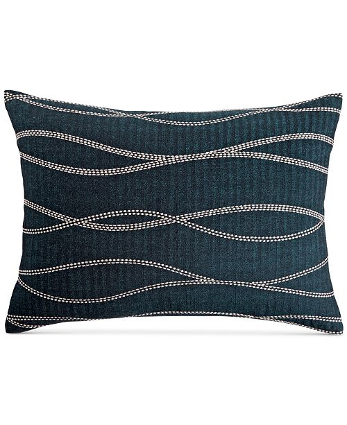 Hotel Collection  CLOSEOUT! Modern Wave Cotton King Sham, Created for Macy's