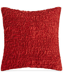 "CLOSEOUT! Hotel Collection Modern Wave 20"" Square Decorative Pillow, Created for Macy's"