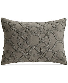 CLOSEOUT! Hotel Collection Arabesque Cotton King Sham, Created for Macy's