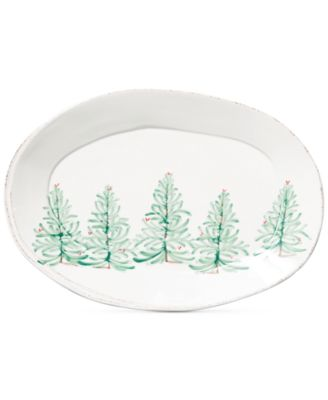 Lastra Holiday Large Oval Platter