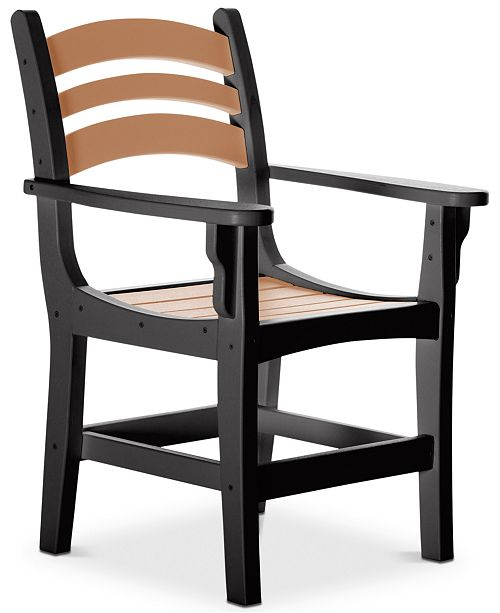 The Hammock Source Casual Outdoor Dining Chair with Arms