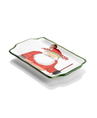 Old St. Nick Tray, Created for Macy's