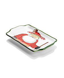 VIETRI Old St. Nick Tray, Created for Macy's
