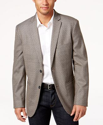 Alfani Men's Classic-Fit Geometric Sport Coat, Created for Macy's