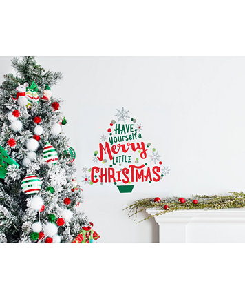 Holiday lane have yourself a merry little christmas wall decal image 2 of holiday lane have yourself a merry little christmas wall decal created for solutioingenieria Image collections