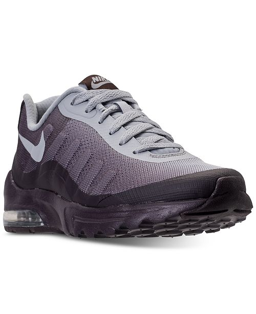 official photos b436e 3df2c ... Nike Women s Air Max Invigor Print Running Sneakers from Finish ...