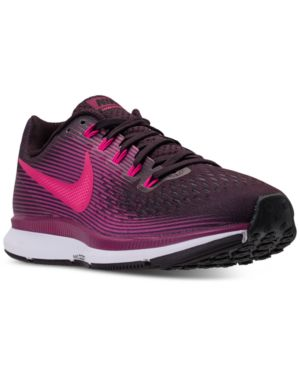 WOMEN'S AIR ZOOM PEGASUS 34 RUNNING SNEAKERS FROM FINISH LINE