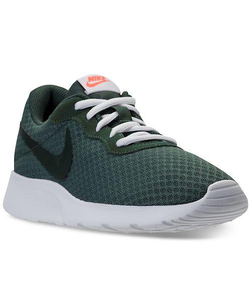 ff9ba044d60ec Nike Women s Tanjun Casual Sneakers from Finish Line  Nike Women s Tanjun  Casual Sneakers from Finish ...