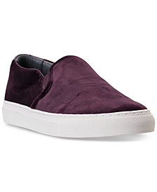 Skechers Women's Vaso Velvet Slip-On Casual Sneakers from Finish Line