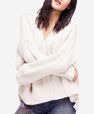 Free People Take Over Me Oversized Sweater