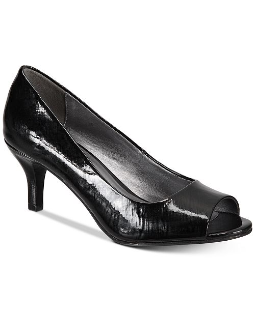 Karen Scott Mory Peep-Toe Pumps, Created for Macy's