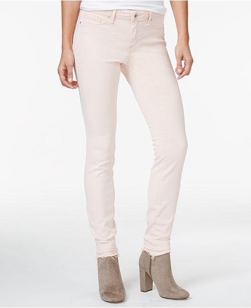 Juniors' Simpson Peach Kiss Super Skinny Jeans Jessica Me qw6d065