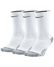 3-Pk. Dry Cushioned Crew Training Socks