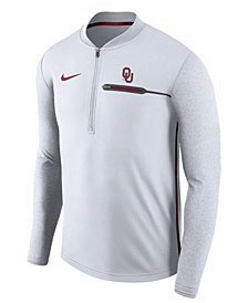 Nike Men's Oklahoma Sooners Coaches Quarter-Zip Pullover