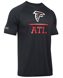 Under Armour Men's Atlanta Falcons Lockup Tech T-Shirt
