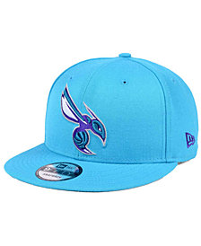 New Era Charlotte Hornets Solid Alternate 9FIFTY Snapback Cap