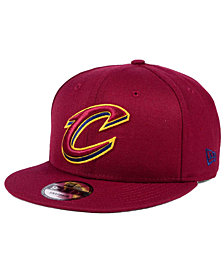 New Era Cleveland Cavaliers Solid Alternate 9FIFTY Snapback Cap