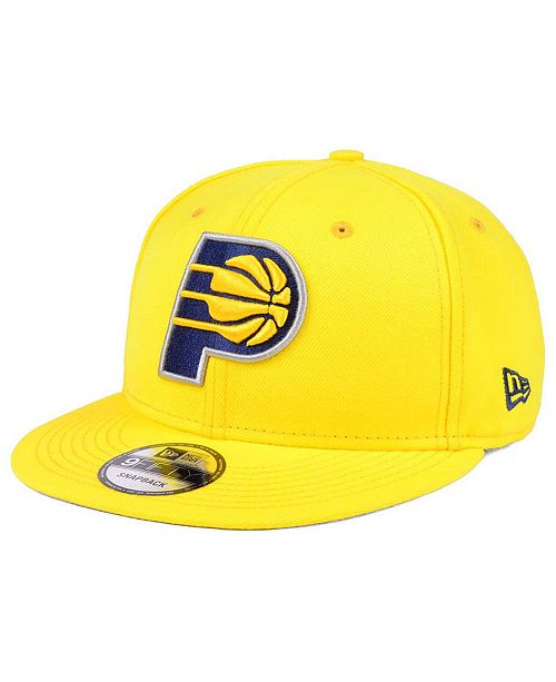 New Era Indiana Pacers Solid Alternate 9FIFTY Snapback Cap - Sports ... 7e2821f04be