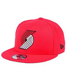 New Era Portland Trail Blazers Solid Alternate 9FIFTY Snapback Cap