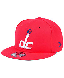 New Era Washington Wizards Solid Alternate 9FIFTY Snapback Cap