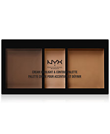 NYX Professional Makeup Cream Highlight & Contour Palette