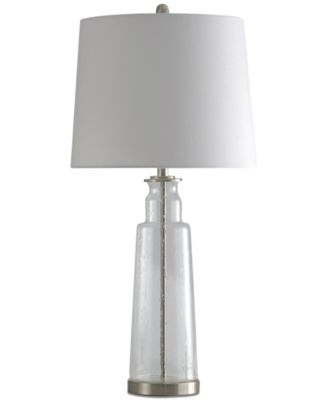 StyleCraft Kenley Seeded Glass Table Lamp