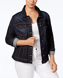 Kut from the Kloth Plus Size Helena Denim Jacket