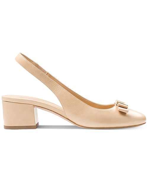 eb2a2c14293 Michael Kors Caroline Slingback Pumps   Reviews - Pumps - Shoes - Macy s