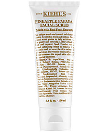 Kiehl's Since 1851 Pineapple Papaya Facial Scrub, 3.4-oz.