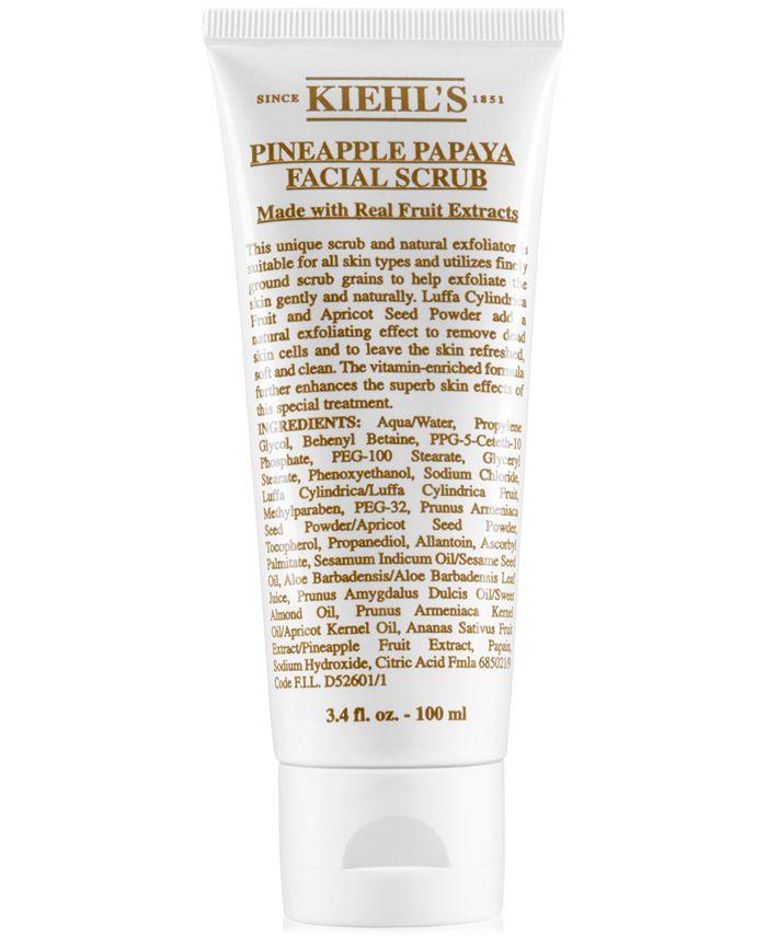 Kiehl's Since 1851 - Pineapple Papaya Facial Scrub, 3.4-oz.