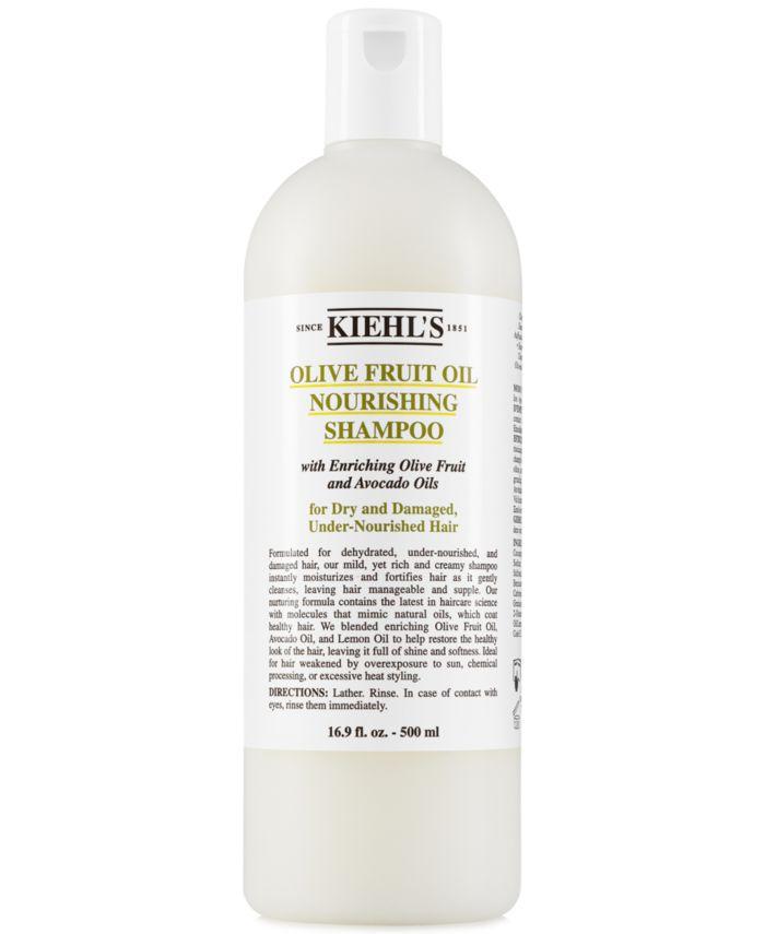 Kiehl's Since 1851 Olive Fruit Oil Nourishing Shampoo, 16.9-oz. & Reviews - Beauty - Macy's